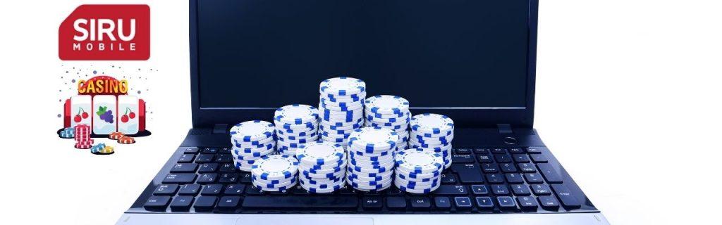 Casino utan licens med Siru